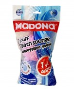 MADONA Puff Body Sponge 1+1free