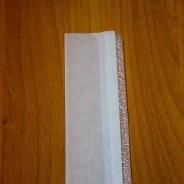 White Plastic Door Bar