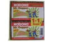 MADONA kitchen sponge Mr. Copper No 616 1+1