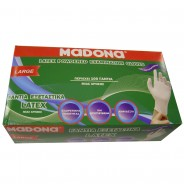 MADONA Latex Gloves Medium
