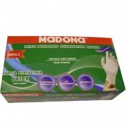 ΜADONA Latex Gloves Small