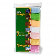 Spongo Magic microfiber cloth (Pack of 7pcs)
