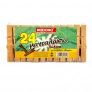 MADONA Wooden Pegs 85mm (pack of 24pcs)