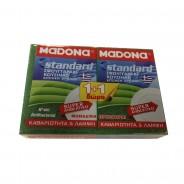 MADONA Standard Kitchen Sponge Small Νο 601 1 + 1 Free