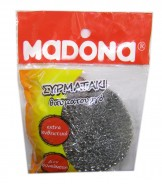 MADONA Knitted Wire Scourer Silver (No 209)